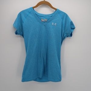 Under Armour Heat Gear Semi-Fitted V-neck Top